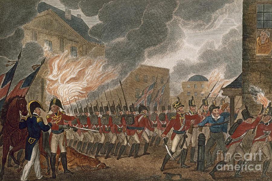 Washington Burning, 1814 Photograph
