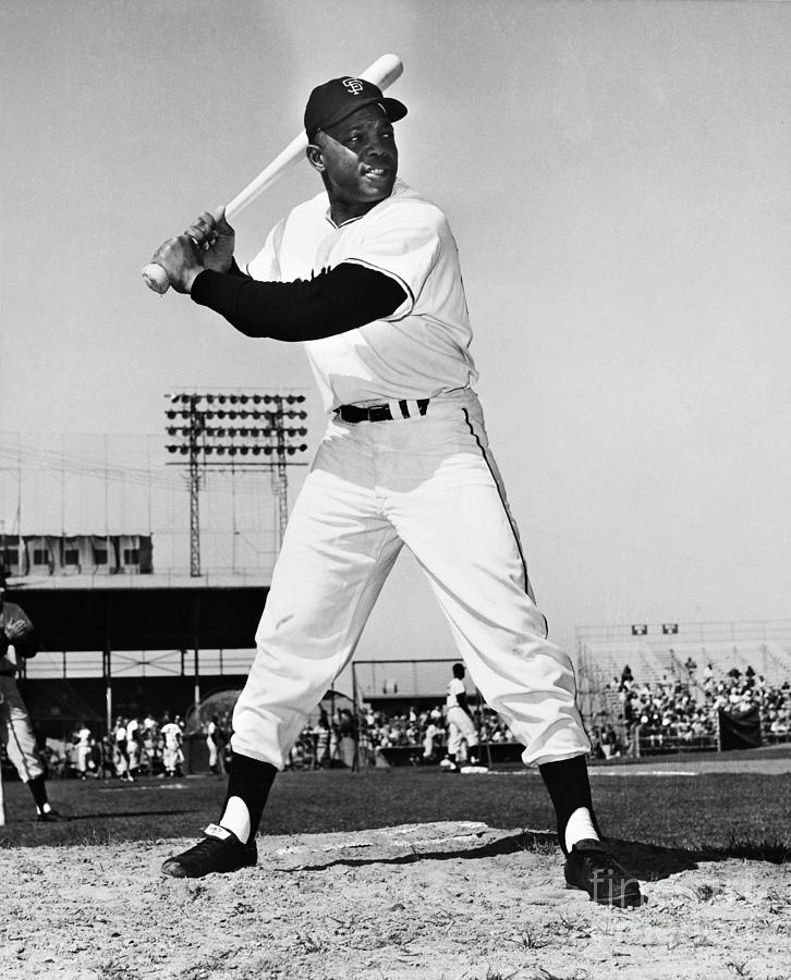 Willie Mays (1931- ) Photograph