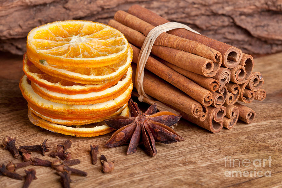 Winter Spices Photograph  - Winter Spices Fine Art Print
