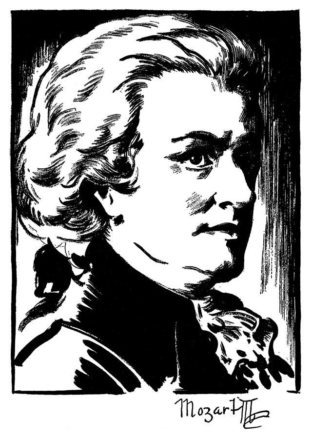 Wolfgang Amadeus Mozart Photograph