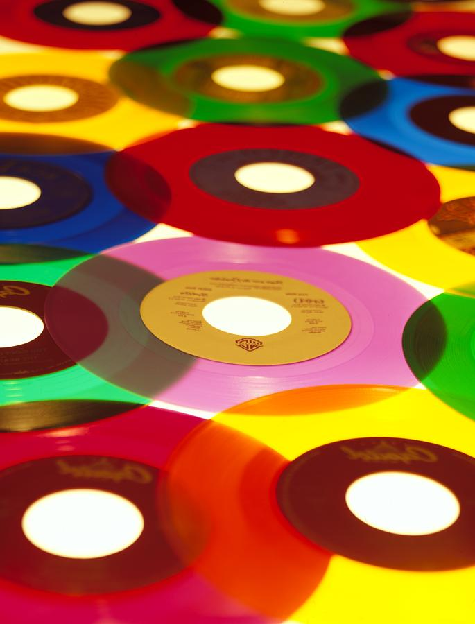 45 Rpm Photograph  - 45 Rpm Fine Art Print