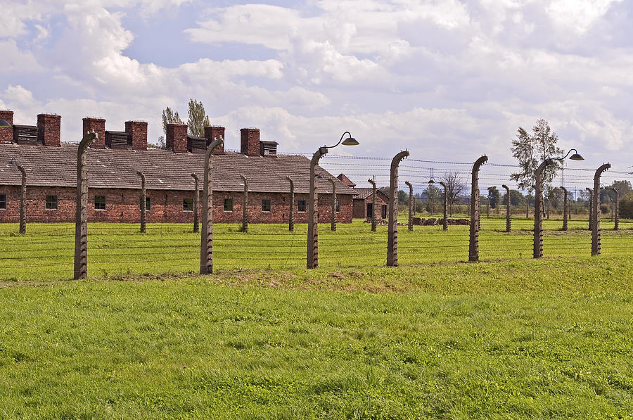 Auschwitz Birkenau Concentration Camp. Photograph