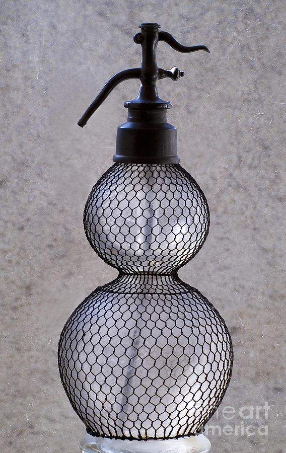 Bottle Of Water Glass Art
