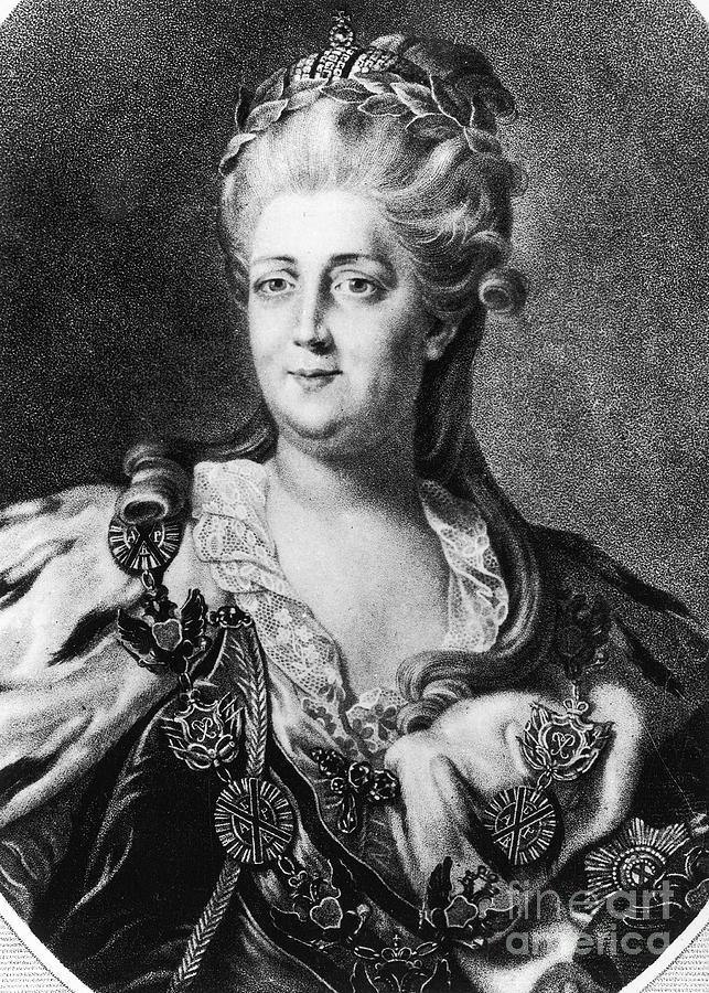Catherine II (1729-1796) Photograph