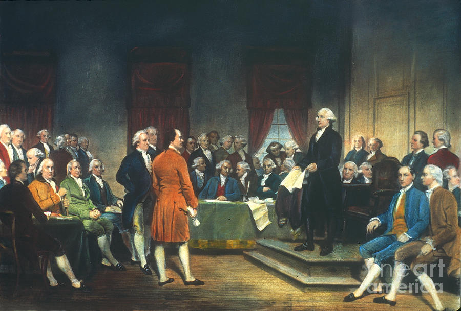 Constitutional Convention Photograph  - Constitutional Convention Fine Art Print