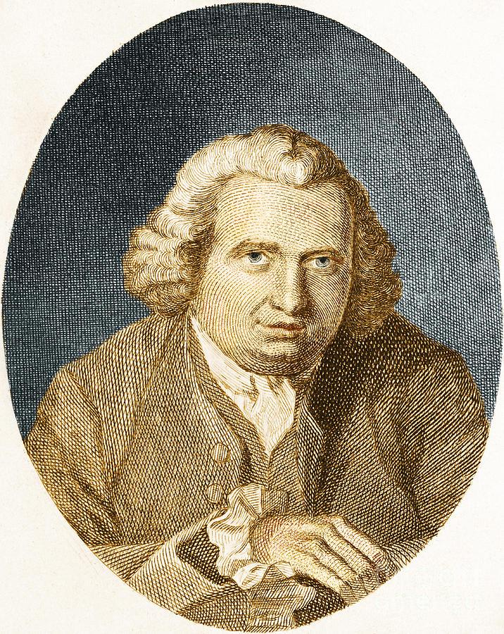 Erasmus Darwin, English Polymath Photograph