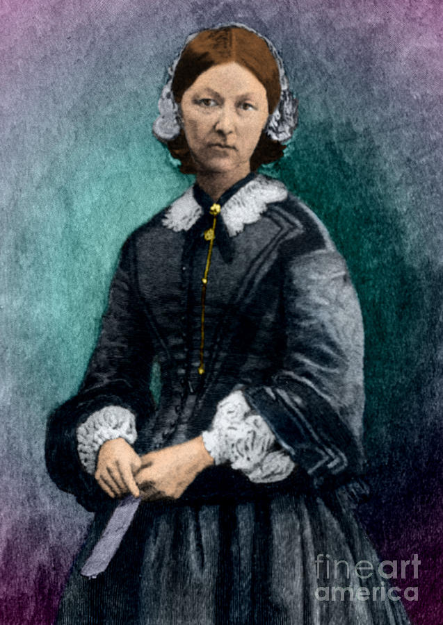 Florence Nightingale, English Nurse Photograph  - Florence Nightingale, English Nurse Fine Art Print
