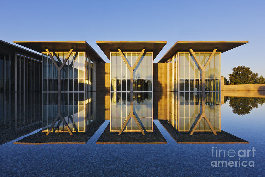 Forth Worth Modern Art Gallery Photograph  - Forth Worth Modern Art Gallery Fine Art Print