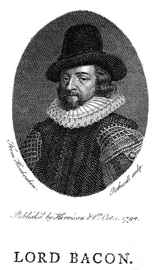 Francis Bacon (1561-1626) Photograph