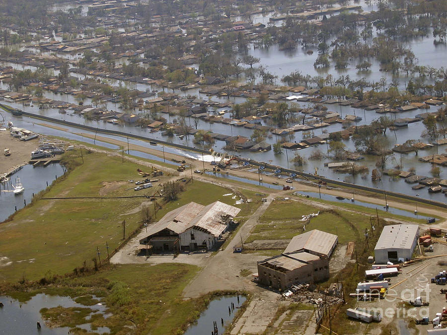 Hurricane Katrina Damage Photograph by Science Source