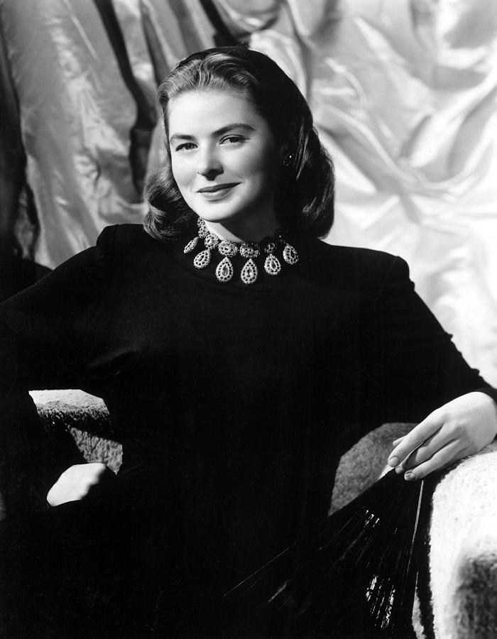 Bergman Photograph - Ingrid Bergman, Portrait by Everett