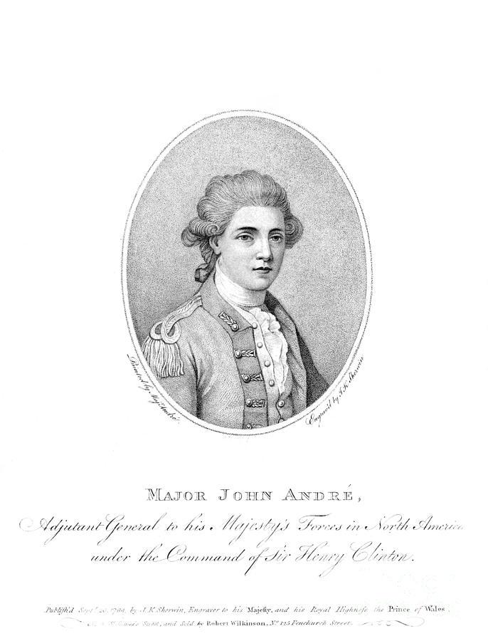 John Andre (1751-1780) Photograph