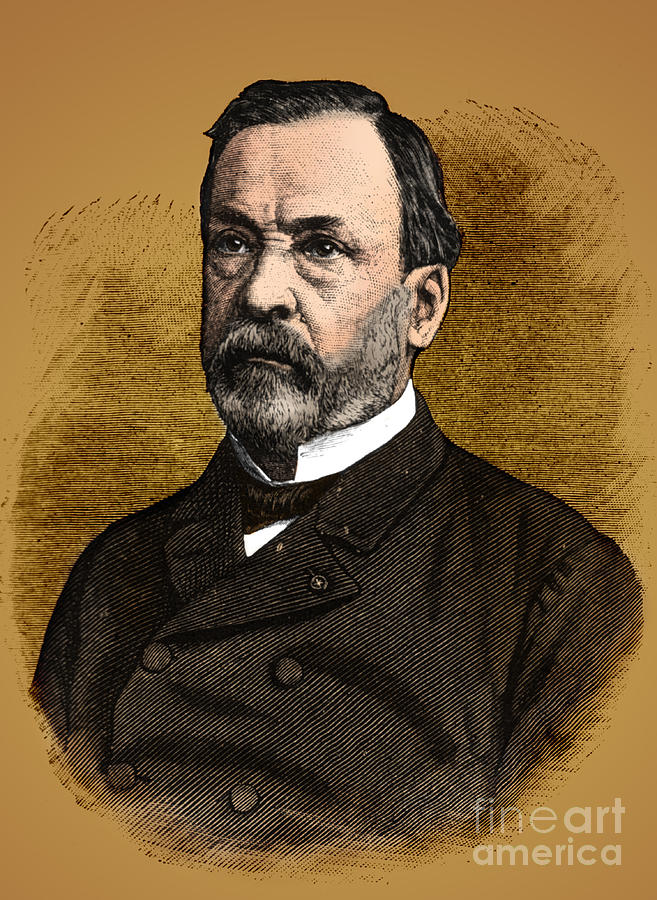 Louis Pasteur, French Chemist Photograph  - Louis Pasteur, French Chemist Fine Art Print