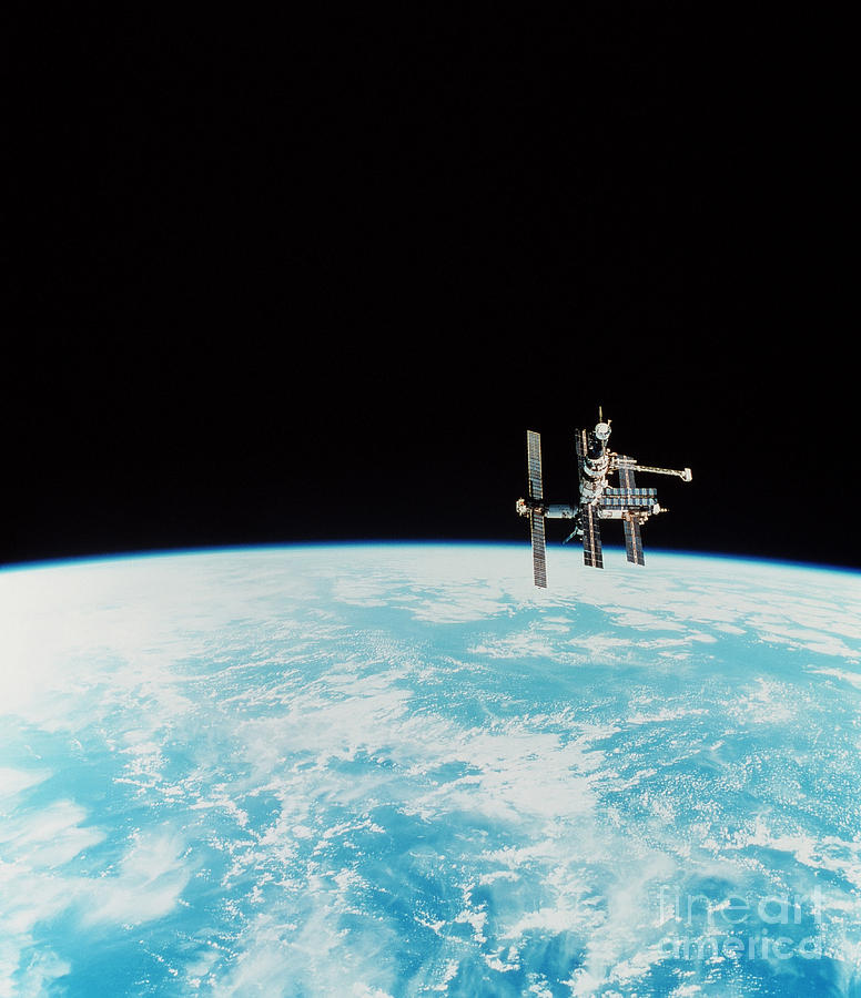 Mir Space Station Photograph  - Mir Space Station Fine Art Print