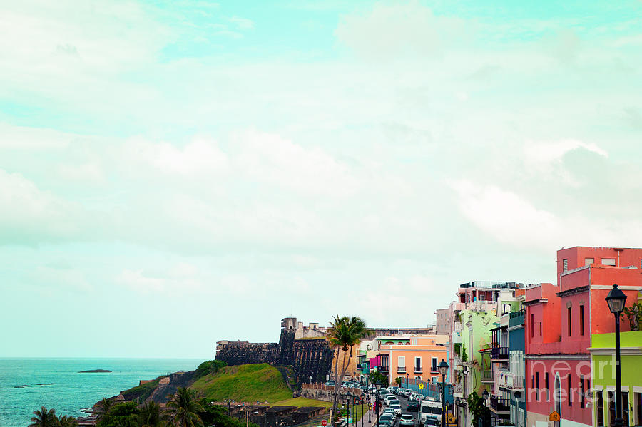 Old San Juan Puerto Rico Photograph