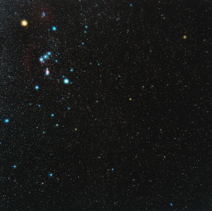 Orion Constellation Photograph