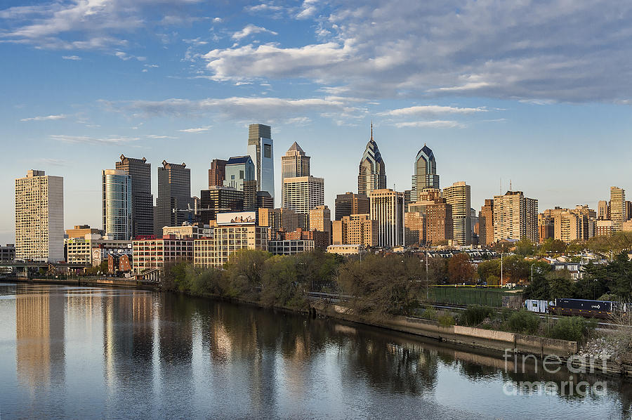 Philadelphia Skyline Photograph  - Philadelphia Skyline Fine Art Print