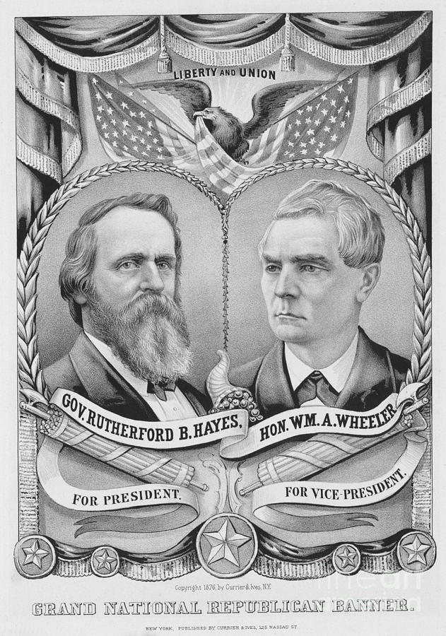 Presidential Campaign, 1876 Photograph