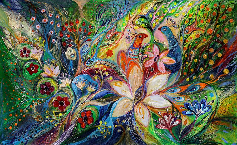 The Magic Garden Painting  - The Magic Garden Fine Art Print