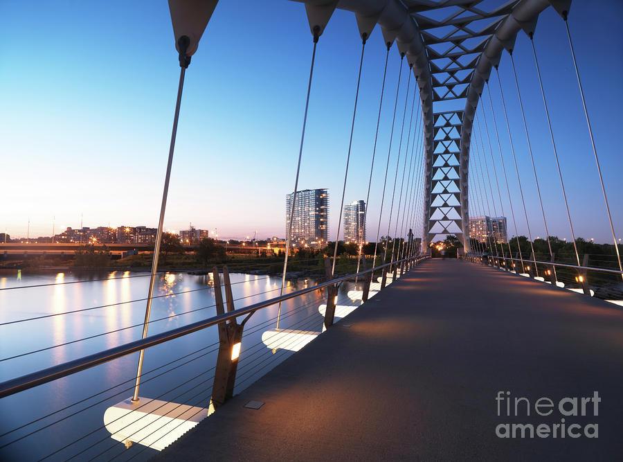 Toronto The Humber River Arch Bridge Photograph