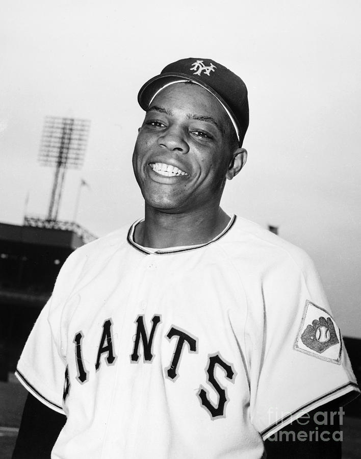 Willie Mays (1931- ) Photograph  - Willie Mays (1931- ) Fine Art Print