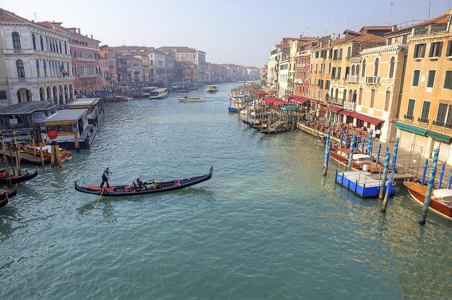 Grand Canal Photograph - Venezia by Joana Kruse