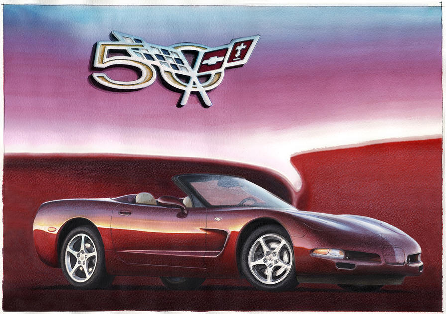 50th anniversary corvette by rod seel. Cars Review. Best American Auto & Cars Review