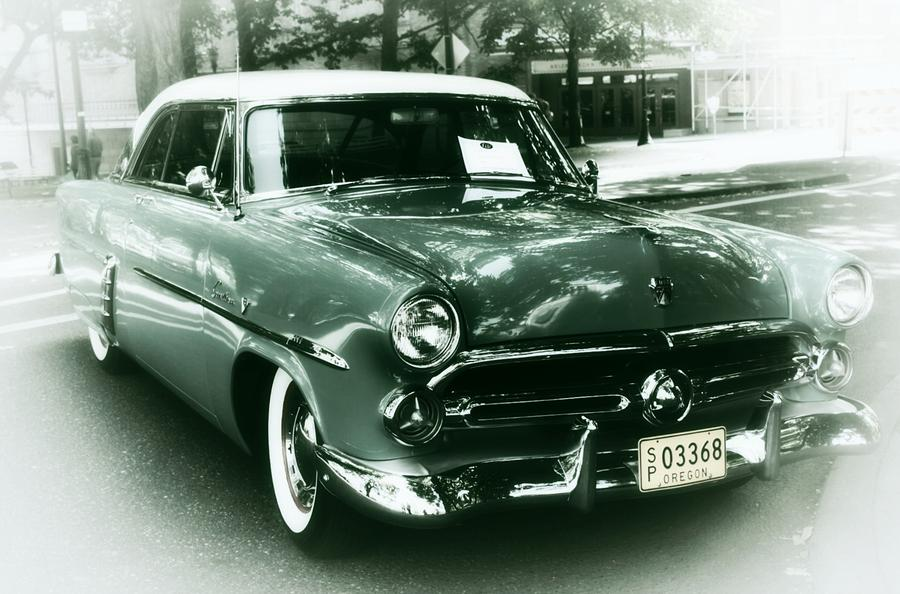 52 Ford Victoria Hard Top Photograph