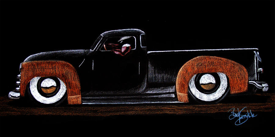 53 Chevy Pickup Drawing