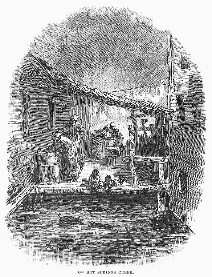 Arkansas: Hot Springs, 1878 Photograph