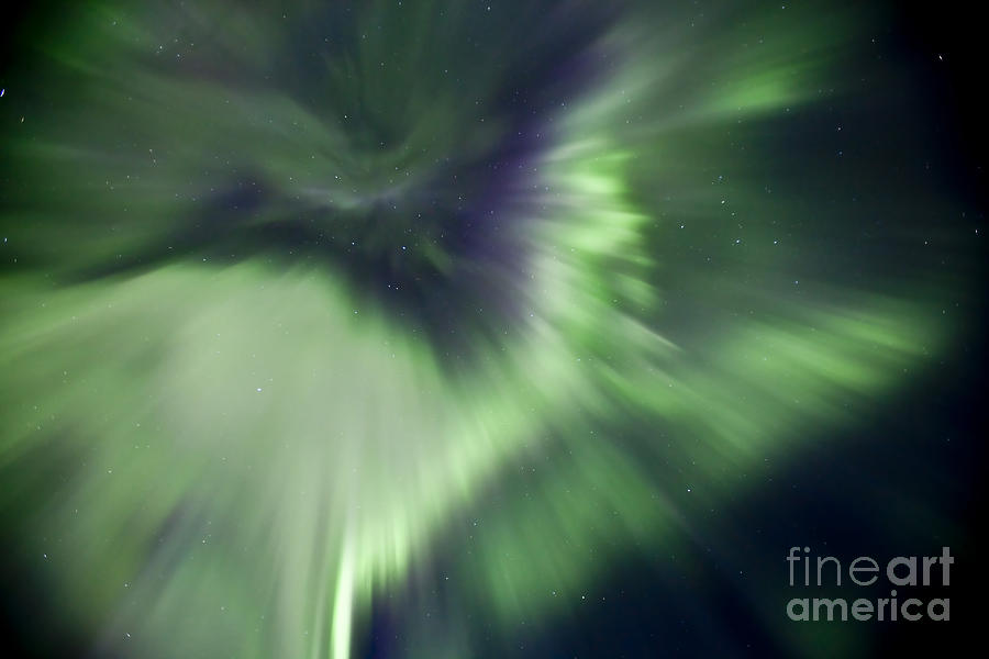 Aurora Borealis Near Drayton Valley Photograph  - Aurora Borealis Near Drayton Valley Fine Art Print
