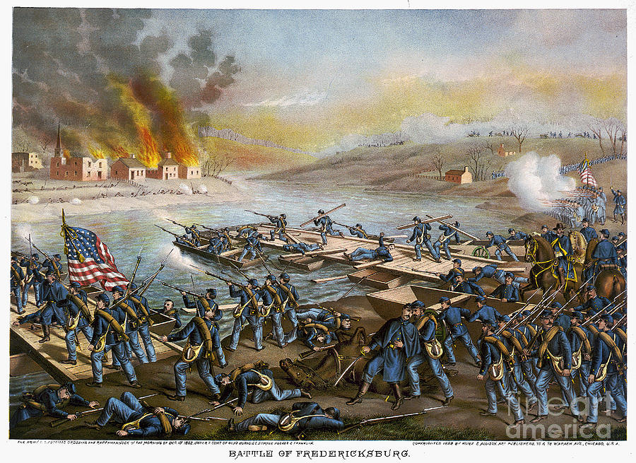 Battle Of Fredericksburg Photograph