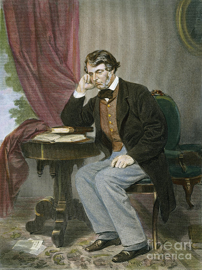 Charles Sumner (1811-1874) Photograph