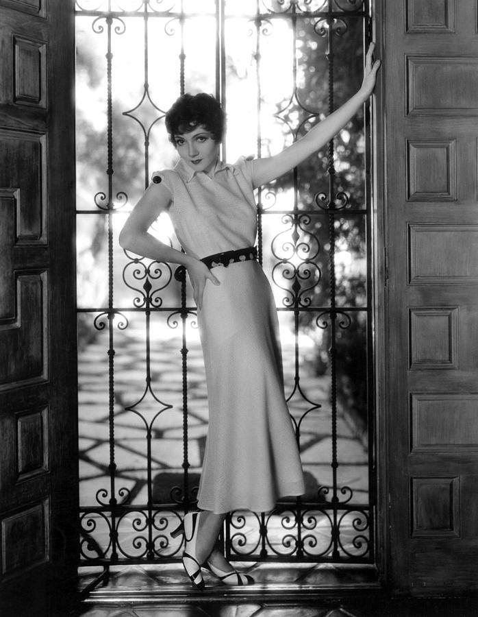 Claudette Colbert, Paramount Pictures Photograph
