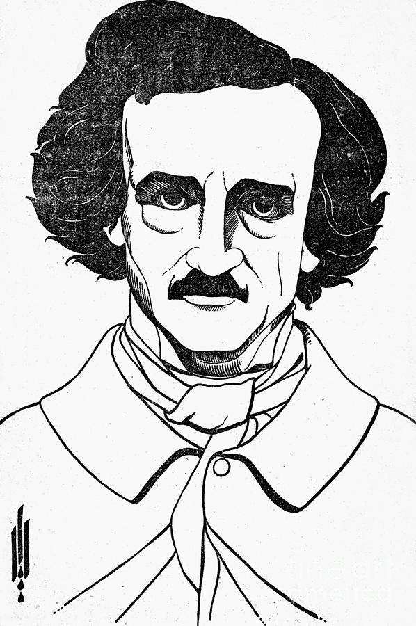 Edgar Allan Poe (1809-1849) Photograph