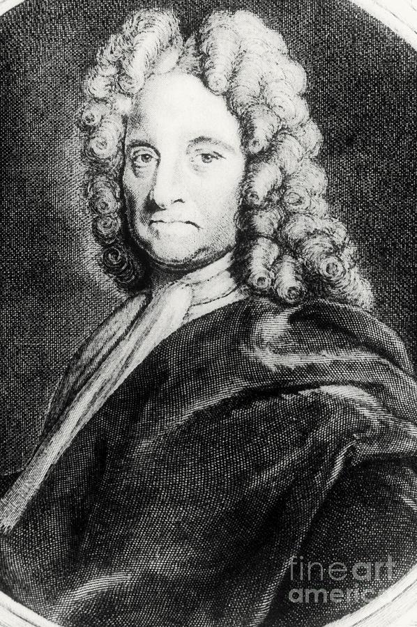 Edmond Halley, English Polymath Photograph