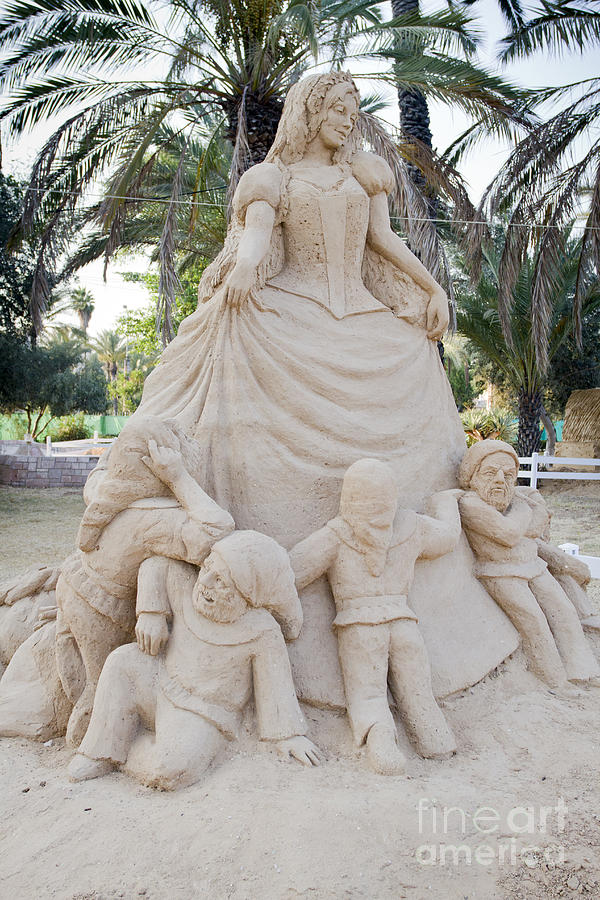 Fairytale Sand Sculpture  Photograph  - Fairytale Sand Sculpture  Fine Art Print
