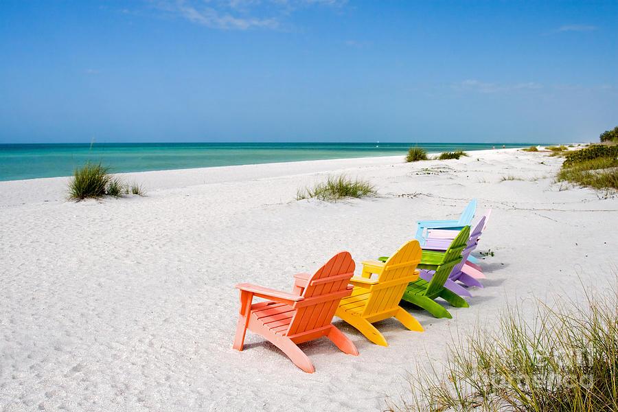 Florida Sanibel Island Summer Vacation Beach Photograph