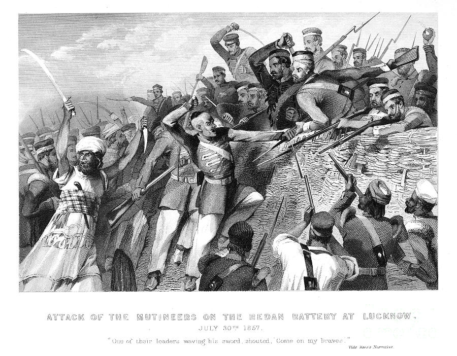 India: Sepoy Rebellion, 1857 Photograph  - India: Sepoy Rebellion, 1857 Fine Art Print
