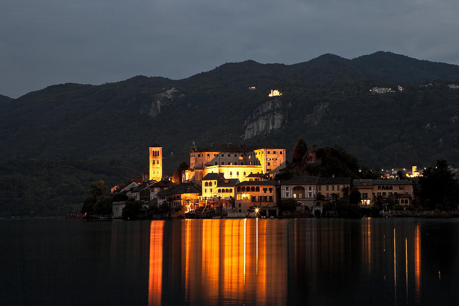 Island Of San Giulio Photograph