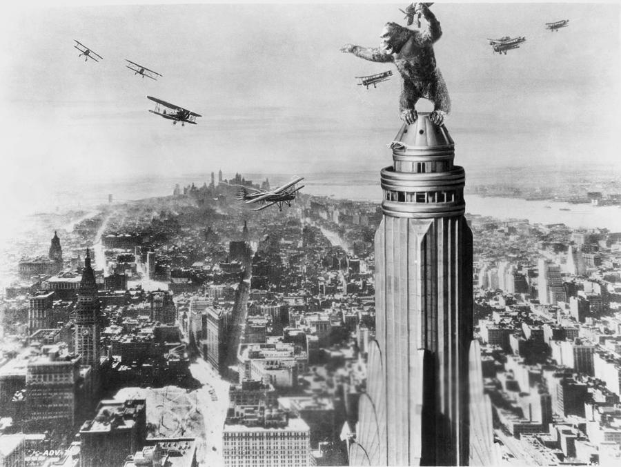 King Kong, 1933 Photograph  - King Kong, 1933 Fine Art Print