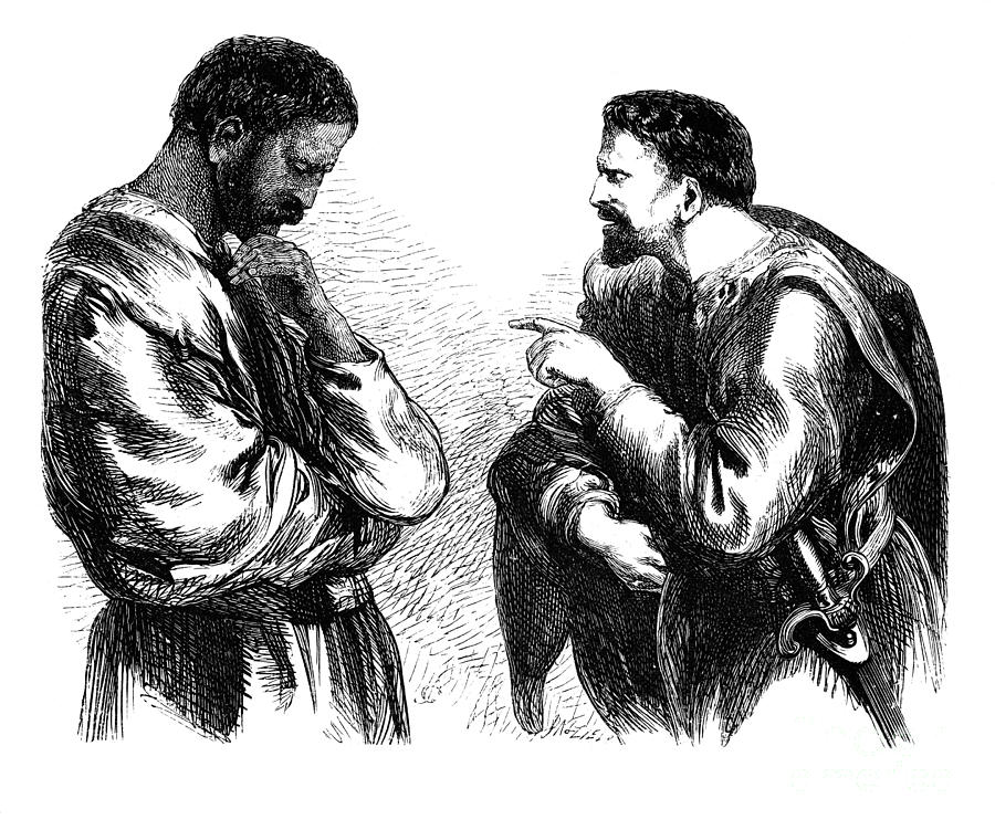 exploring the antagonism of iago in shakespeares othello Exploring iago's (lack of) motives for his evil deeds in othello exploring iago's shakespeare's tragic play othello has the ability throughout time to relate.