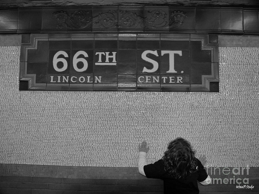 66th Street New York City Subway Photograph