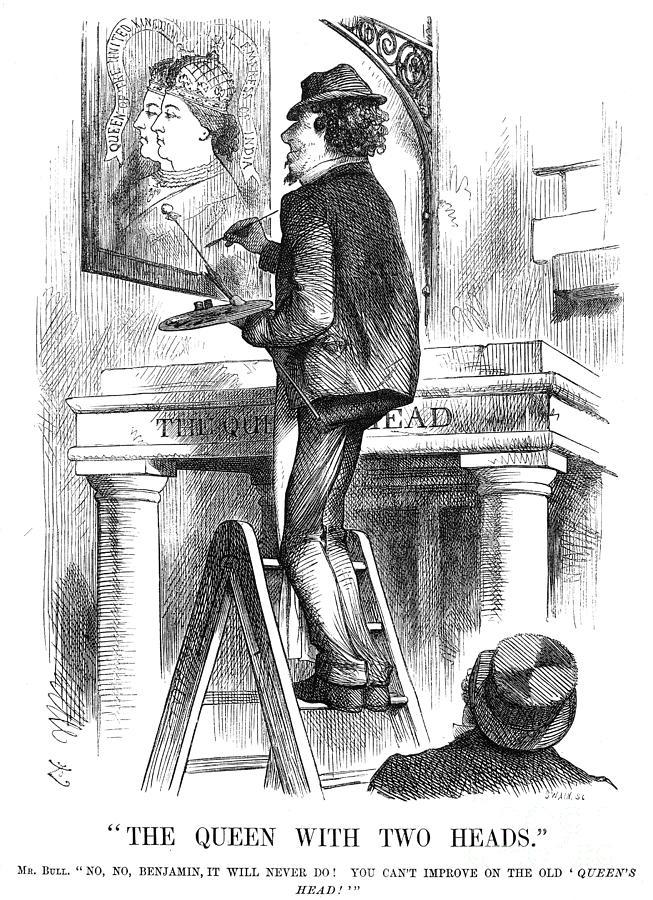 Benjamin Disraeli (1804-1881) Photograph