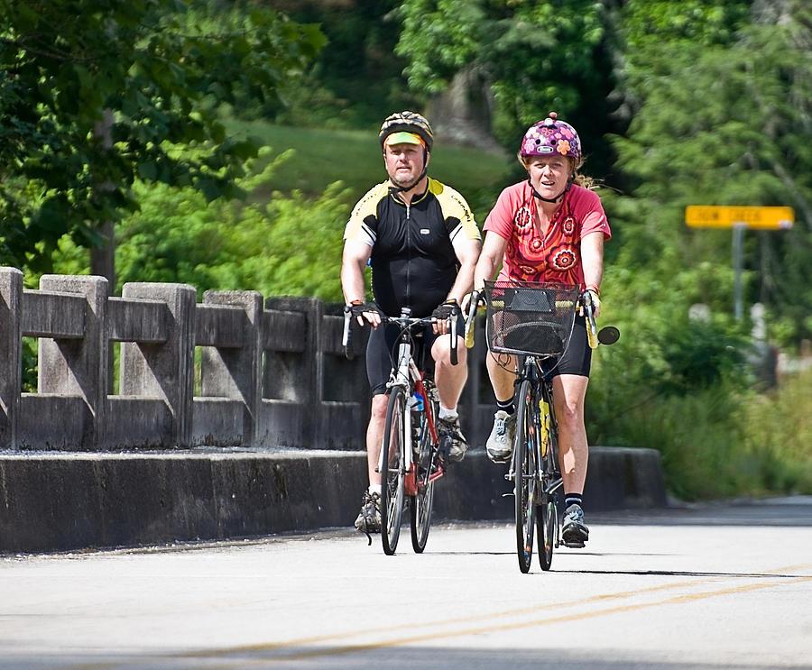 Bicycle Ride Across Georgia Photograph