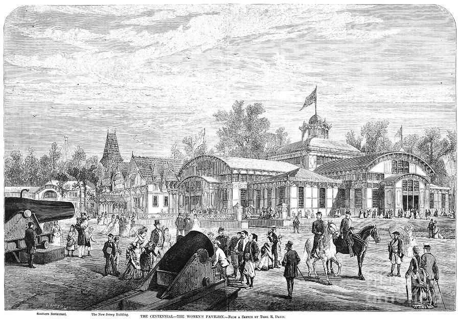 Centennial Fair, 1876 Photograph  - Centennial Fair, 1876 Fine Art Print