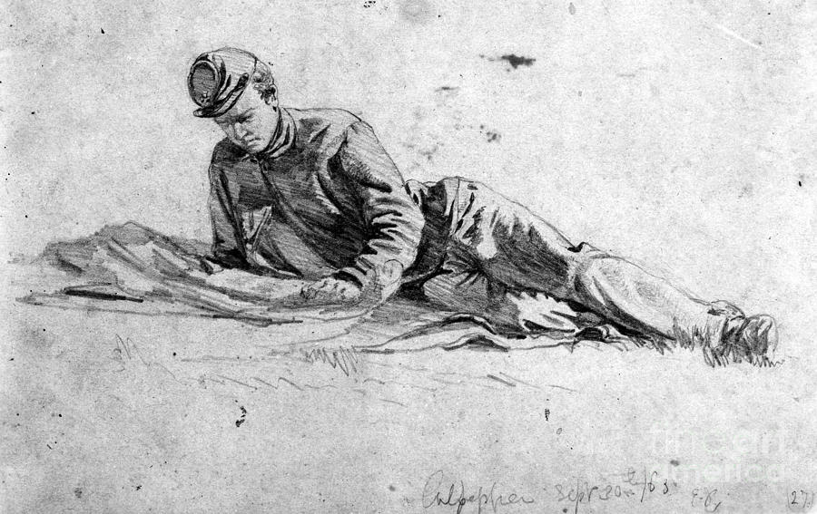 civil war soldier drawing pictures to pin on pinterest
