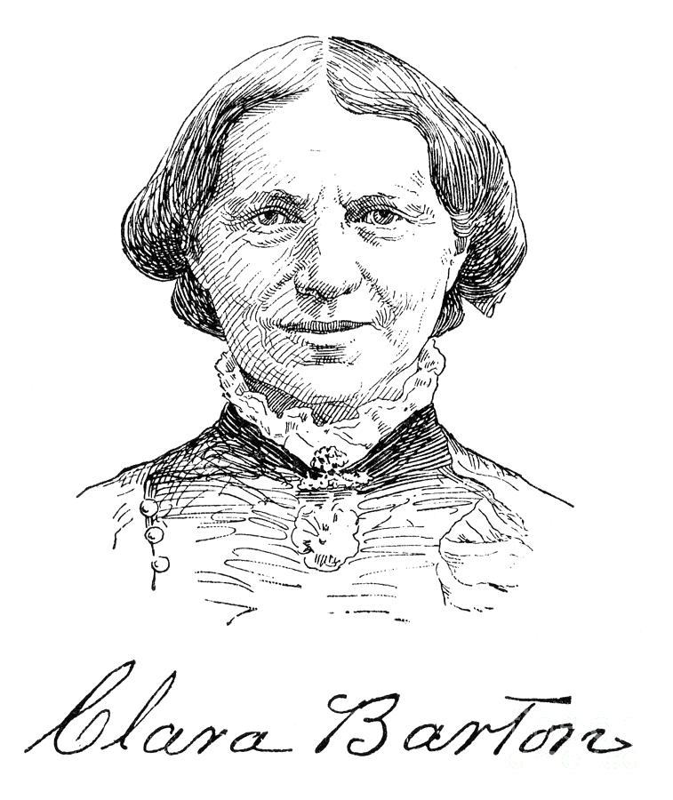 clara barton coloring pages free - photo#33