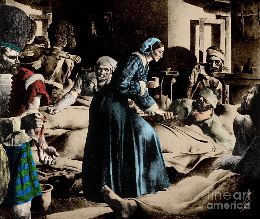 Florence Nightingale, English Nurse Photograph