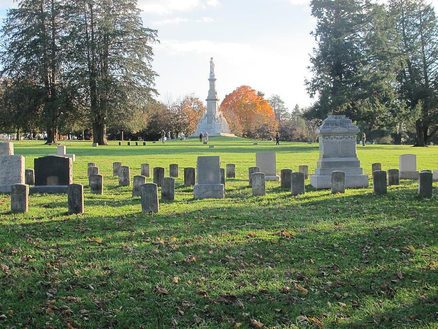 American History Photograph - Gettysburg Three Days Battle   by Valia Bradshaw